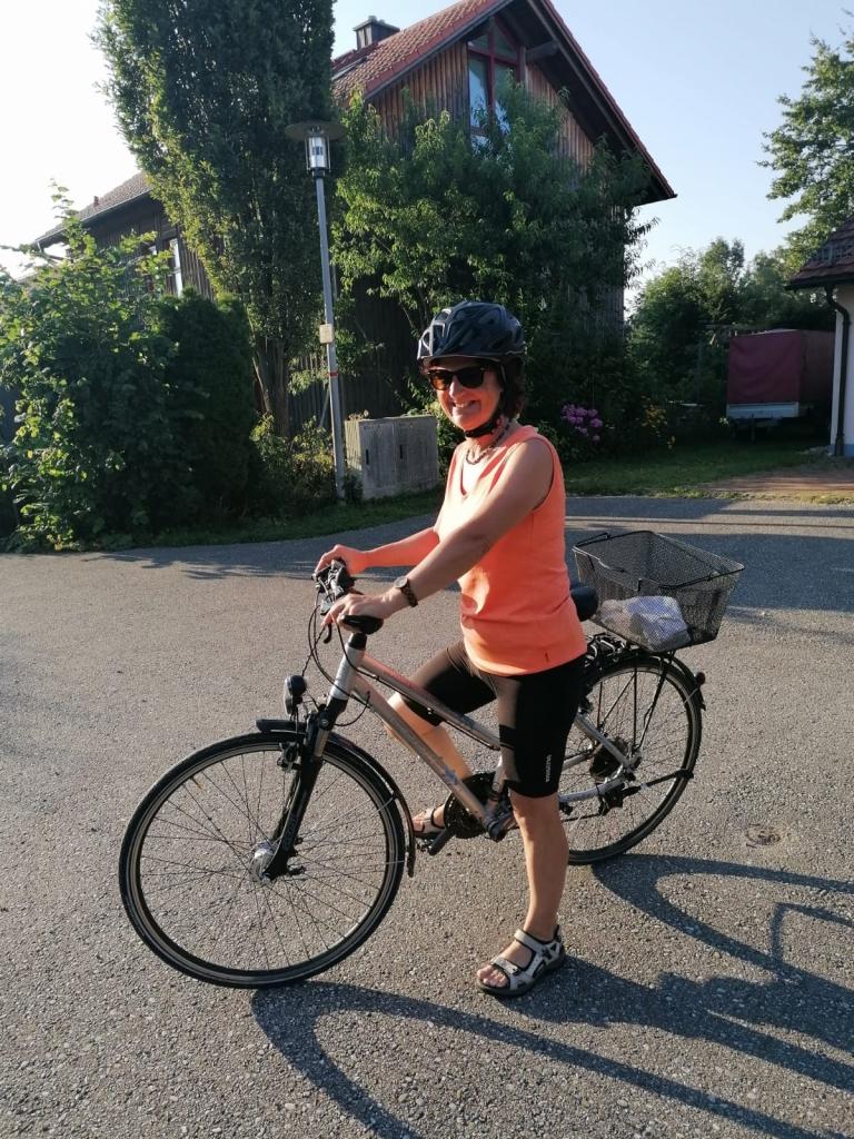unterwegs mit dem Rad